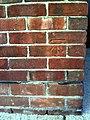 Benchmark on ^172 Saxton Road - geograph.org.uk - 2096802.jpg