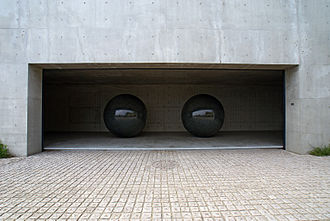 """Walter De Maria - """"Seen/Unseen Known/Unknown"""" at Benesse House, Naoshima, Kagawa prefecture, Japan"""