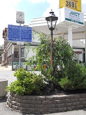 Tamaqua, Pennsylvania - Benjamin F. Yost Memorial.