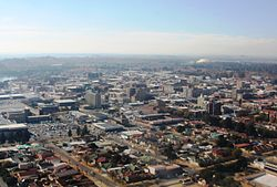 The CBD of Benoni