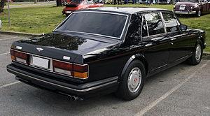Bentley Turbo R - Bentley Turbo R, rear view
