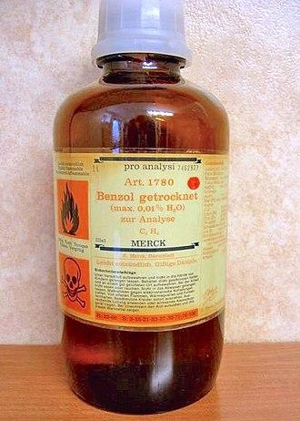 Benzene - Image: Benzol