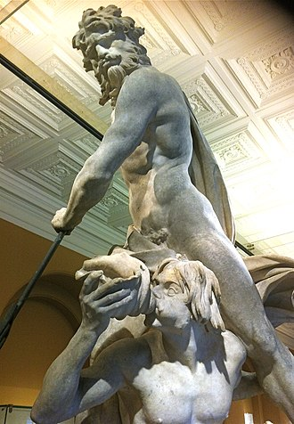 Neptune and Triton - Image: Bernini's Neptune and Triton, 1622 3