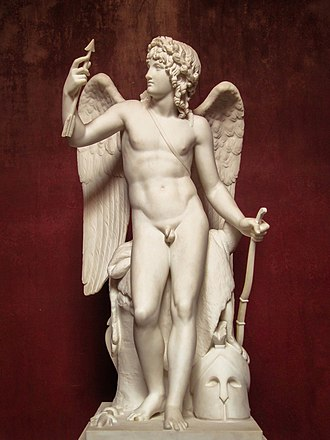 Cupid - Cupid sculpture by Bertel Thorvaldsen