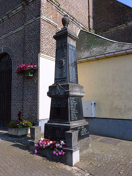 Beuvry-la-Forêt (Nord, Fr) monument aux morts