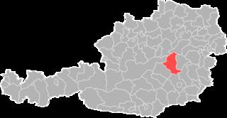 Bruck an der Mur District District in Styria, Austria