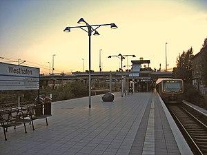 Berlin Westhafen station - Westhafen S-Bahn station