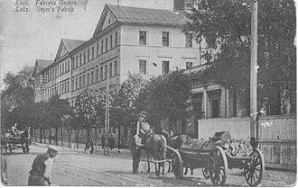 Piotrkowska Street - The White Factory, Piotrkowska Street 282