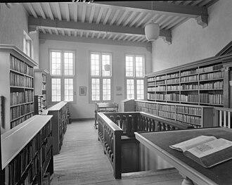 Bibliotheca Thysiana - Image: Bibliotheek Thysiana, interieur Leiden 20137138 RCE