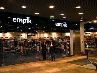 Empik - Books Sphere Empik at Galeria Sfera in Bielsko-Biala
