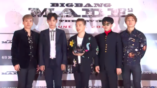 Big Bang (South Korean band) South Korean boyband