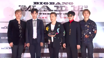 Picture of a band or musician: Bigbang