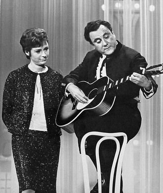 Bill Dana - With Caterina Valente on The Hollywood Palace, 1965.