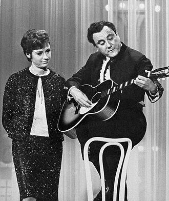 Bill Dana - With Catarina Valente on The Hollywood Palace, 1965.