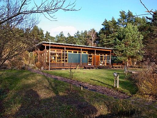 Biosphärenreservat Mittelelbe,Informationspavillon Auenhaus