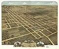 Bird's eye view of the city of Princeton, Bureau County, Illinois 1870. LOC 73693370.jpg