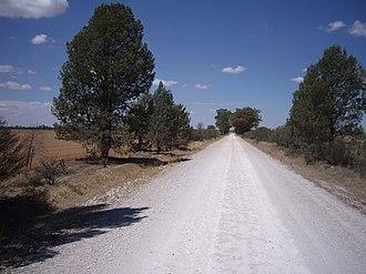 Birrego, New South Wales - Birrego to Sandigo road