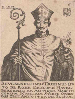 Bishopric of Havelberg - Bishop Otto von Rohr