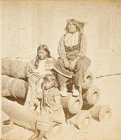 Black Horse Comanche Chief