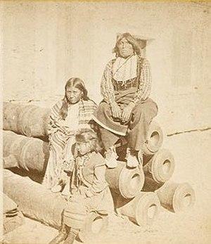 Buffalo Hunters' War - Image: Black Horse Comanche Chief