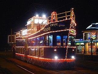 Blackpool Illuminations Annual lights festival in Blackpool, Lancashire, England