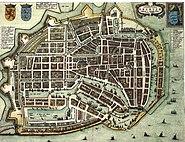 Blaeu 1652 - Enkhuizen