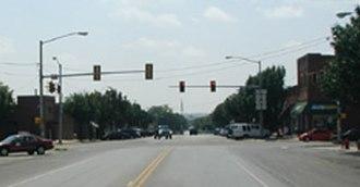 Blanchard, Oklahoma - Main Street