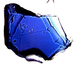 Ringwoodite spinel, high-pressure modification of olivin, nesosilicate mineral