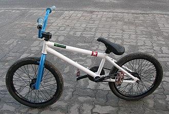 "BMX bike - A ""street"" style BMX bike"