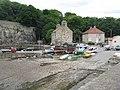 Boats high and dry at Dysart - geograph.org.uk - 1366589.jpg