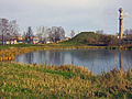 Bogorodsk. Heritage Krutaya Hill near small pond.jpg
