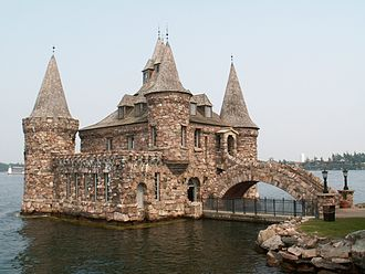 Boldt Castle - Power house