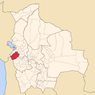 Pacajes Province Province in La Paz Department, Bolivia