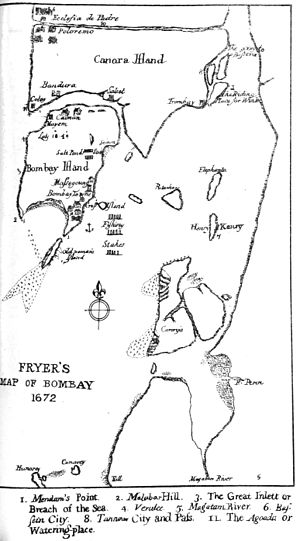 History of Bombay under British rule - Bombay 1672
