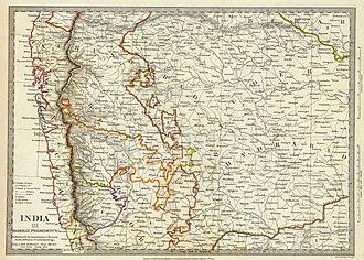 Satara state - Satara, Kolhapur and Sawantwadi State, 1832