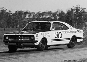 1969 Hardie-Ferodo 500 - The winning Holden Monaro (pictured at Lakeside in July 1970)