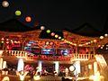 Bongeunsa building - night - may 15 2005.jpg