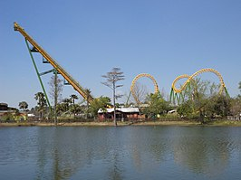 Een Boomerang in Wild Adventures
