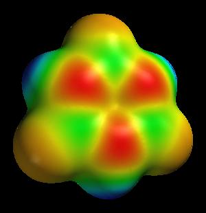 Borazine - Image: Borazine elpot 3D vd W