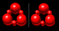 Borazine ELF isosurface bifurcation.png