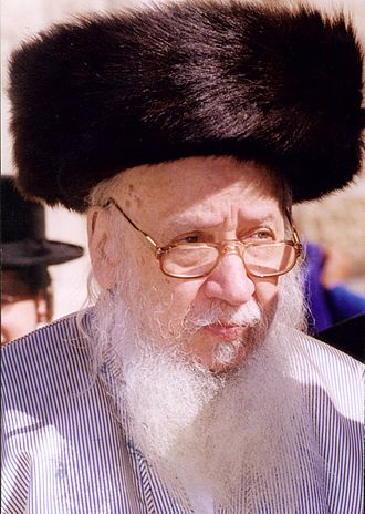 Levi Yitzchak Horowitz - The Rebbe at the Western Wall, Jerusalem