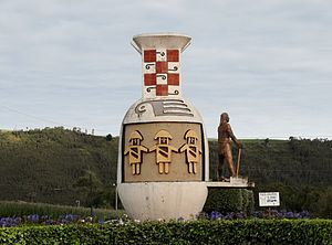 El Ángel, Ecuador - Monument La Botijuela