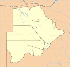 Gaborone is located in Botswana