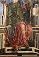Bottega di cosmè tura, musa urania, 1450 ca., dallo studiolo di belfiore, 02.jpg