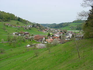 Bottenwil Municipality in Switzerland in Aargau