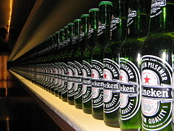Bottles in the Heineken Brewery (2168936714).jpg