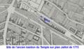 Boulevard du Temple et rue Amelot sur plan Jaillot de 1775.png
