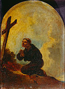 Bourgeois, Sir Peter Francis - Friar in Prayer - Google Art Project.jpg