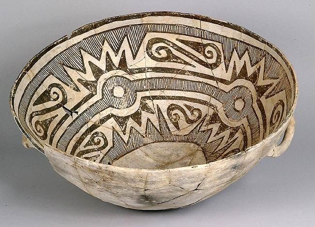 Bowl Chaco Culture NM USA