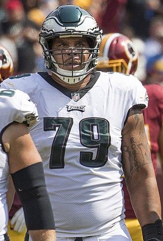 Brandon Brooks (American football) - Brooks with the Philadelphia Eagles in 2017